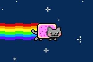 V mnohých mysliach sa zasekla aj známa Nyan Cat.