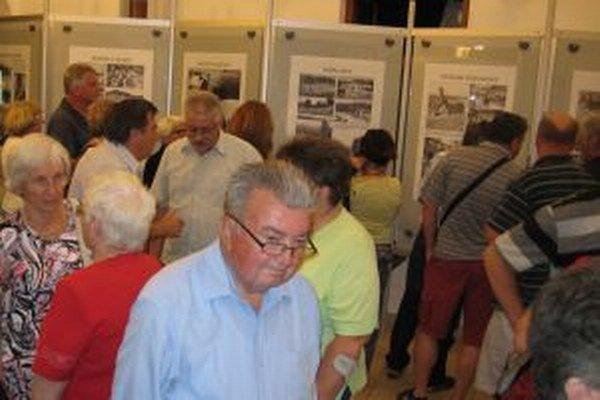 O včerajšiu výstavu bol veľký záujem.