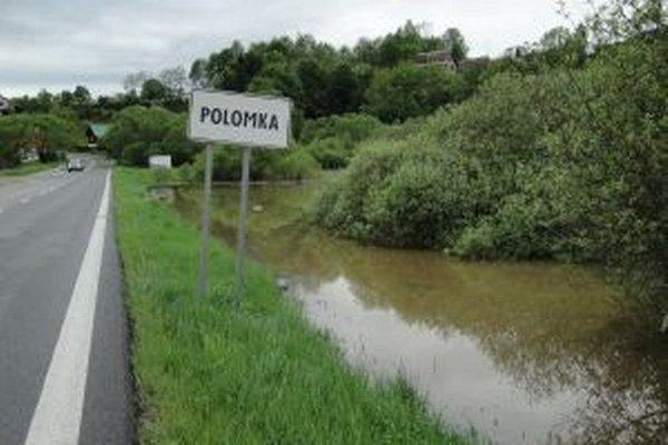 Aj pri Polomnke vzniklo veľké jazero.
