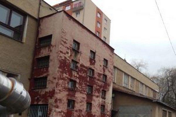 Sídlo bývalého Mestského podniku služieb.