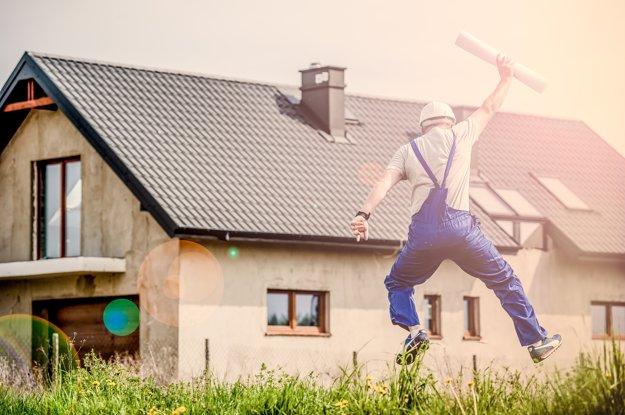 Slováci túžia po bývaní vo vlastnom dome