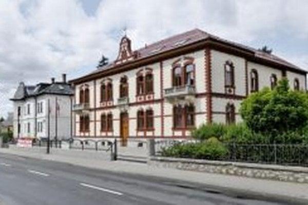 Pobočka spoločnosti v Banskej Bystrici.