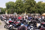 Halič zaplnili stovky motoriek