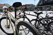 Pešia zóna nie je cyklistom bežne sprístupnená.