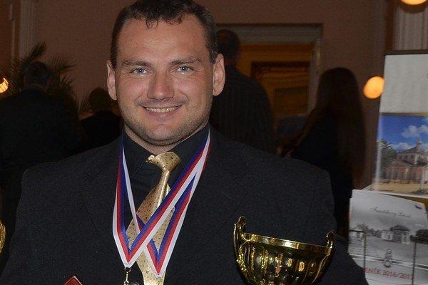 Peter Karásek je bohatší o ďalšie zlato.