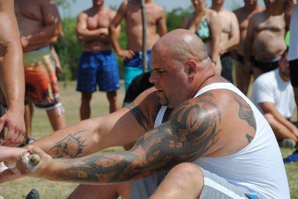 Milan Šuľan je v silových športoch ako ryba vo vode.
