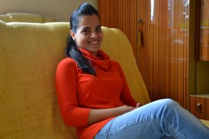 Evka je študentkou Pedagogickej fakulty Univerzity Mateja Bela v Banskej Bystrici.