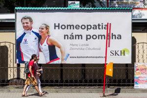 Homeopatiu propaguje aj tenistka Dominika Cibulková a jej tréner Matej Lipták