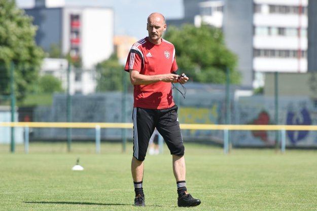Tréner Miroslav Karhan