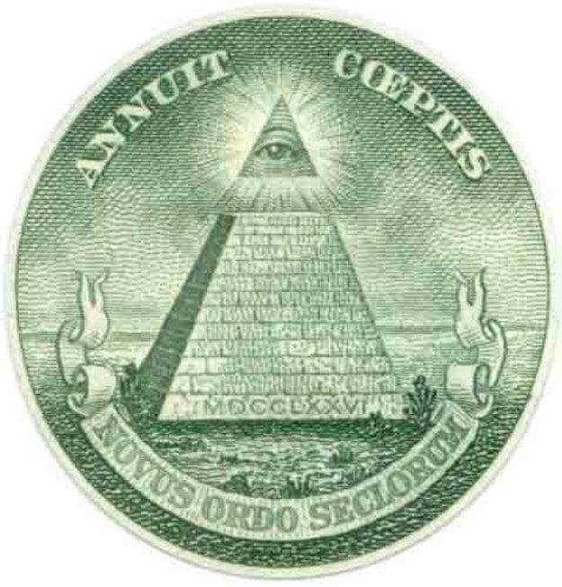 Pyramídu s okom priraďujú k iluminátom aj slobodomurárom.