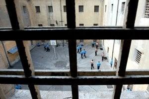 Pohľad z väzenskej cely v Ilave.