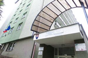 Budova Okresného úradu v Tvrdošíne.