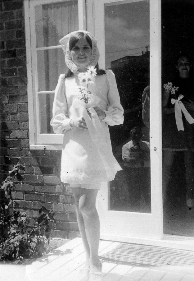 Svadobné šaty v roku 1968