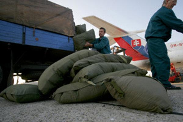 Palestíne prispievame peniazmi, materiálnu pomoc sme tento rok poslali napríklad do Gruzínska, Číny či Moldavska.