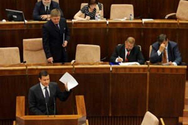 Antisemtiské výroky na Lipšica nikoho z koalície nevyrušili.