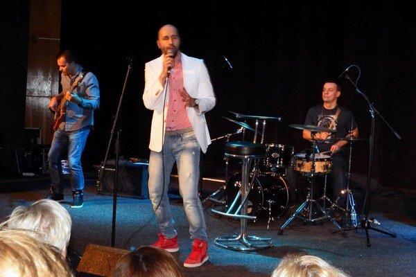 Robo Opatovský and Band na koncerte v Leviciach.