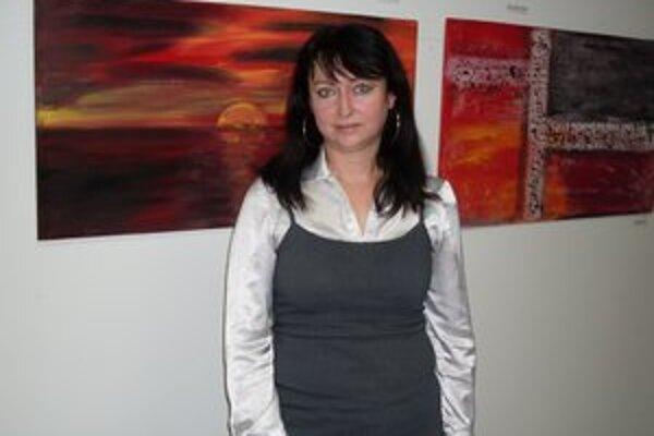 Obrazy Márie Šefferovej sa dostali aj do zahraničia.