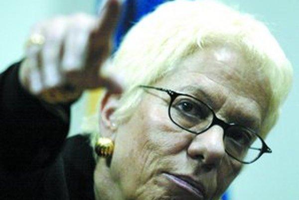 Del Ponteová stála na čele trestného tribunálu pre bývalú Juhosláviu osem rokov.