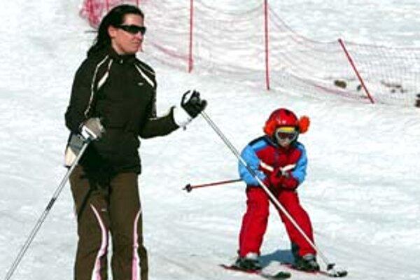 Aj na Donovaloch sa ešte lyžuje.