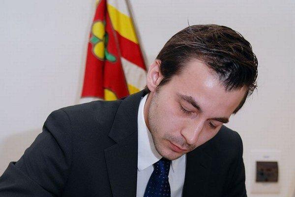 Novým primátorom Stupavy bude bývalý nezávislý poslanec Roman Maroš. Fotografia je z inaugurácie spred štyroch rokov.