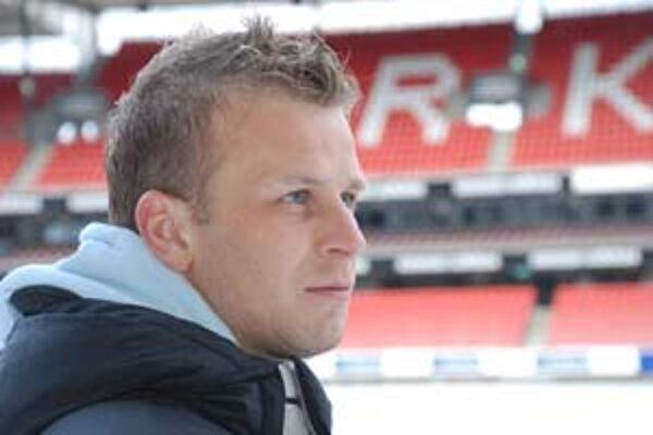 Marek Sapara na štadióne Rosenborgu.