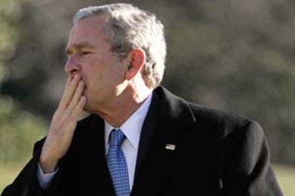 Prezident Bush sa v prejave mal venovať ekonomike a znižovaniu daní.
