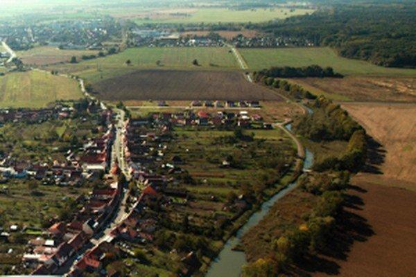 Časť obce Kátov.