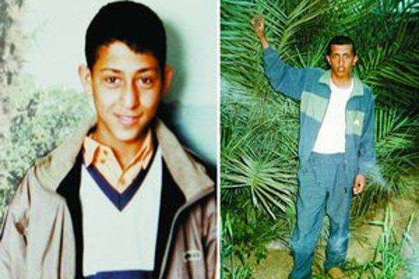 Atentátnici Loai Abwaini (20) a Musa Arafat (23) .