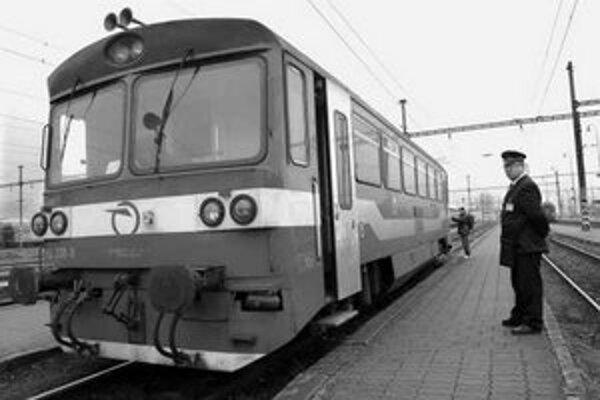 Za normálnych okolností jazdí do Maďarska celá vlaková súprava.