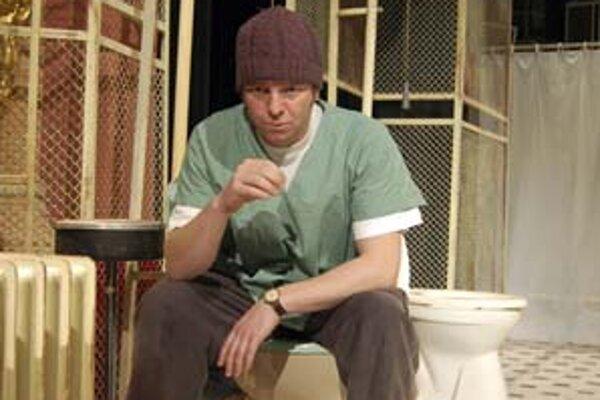 Michal Soltész ako Mc Murphy.