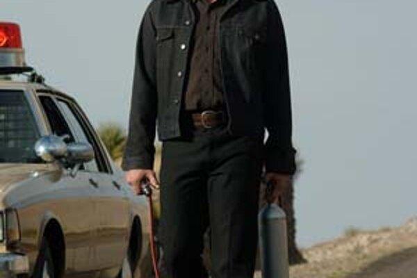 Takto musel Javier Bardem vyzerať vo filme Táto krajina nie je pre starých.