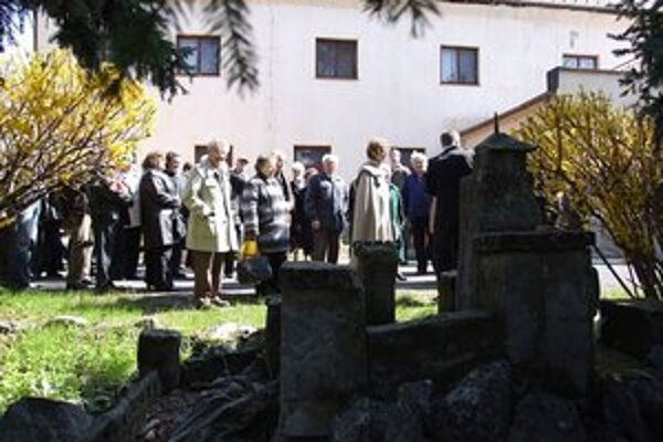 Spomienkové stretnutie pri príležitosti Dňa nespravodlivo stíhaných sa vlani konalo v Pezinku.