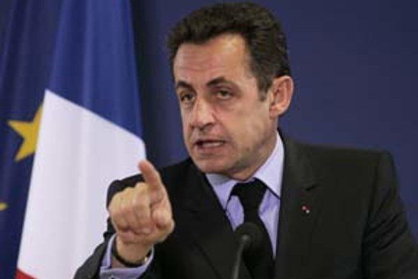 Exprezident Sarkozy.