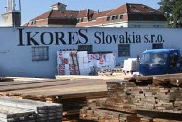 Bratislavské sídlo Ikoresu.