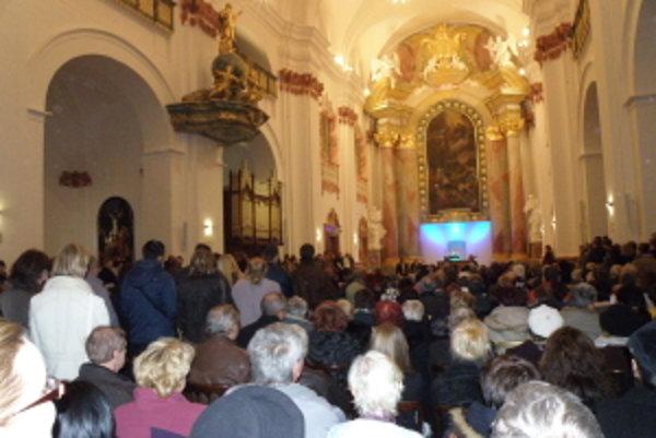 Jezuitský kostol sv. Františka Xaverského v Skalici.