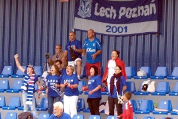 O výbornú atmosféru sa na turnaji starali aj priaznivci Lechu Poznaň.