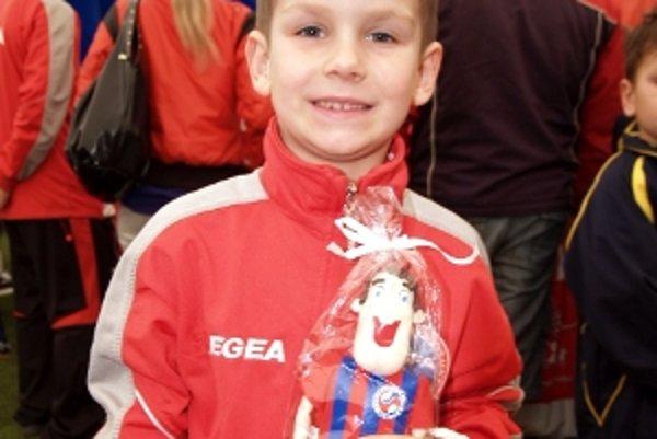 Najmenší a najmladší Siniša Kubovič vyhral súťaž zručnosti.