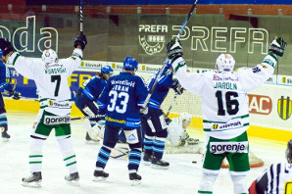 Už po necelej minúte sa tešili z gólu hráči Skalice. Nakoniec to však boli Martinčania.