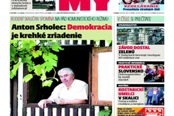 Aktuálne vydanie Týždenníka pre Záhorie.