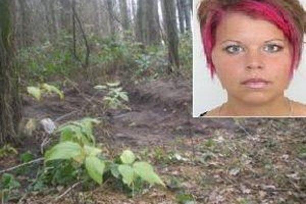 Nikoline telo našli len niekoľko desiatok metrov od policajnej strelnice.