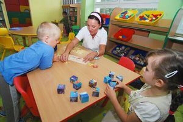 Miest v materských školách je ich nedostatok.