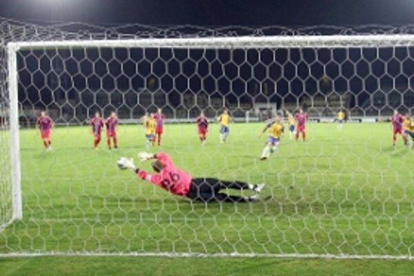 Bolek si na Harsányiho penaltu aj siahol.