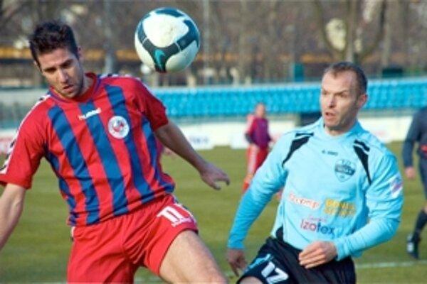Andrej Hesek (vľavo) v minulosti hrával práve v Nitre.