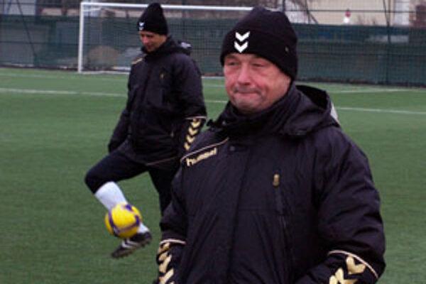 Tréner futbalistov FK Senica Ladislav Hudec.