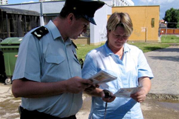Polícia požiadala o pomoc aj obyvateľov.