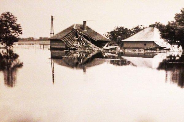 Potopa spred desaťročí.
