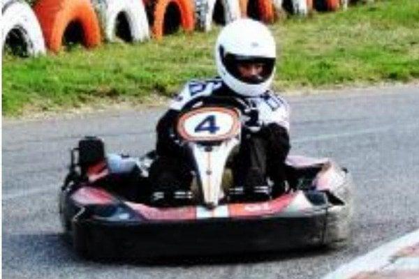 Talentovaný novozámocký jazdec Marco Čambalík počas pretekov v Maďarsku.