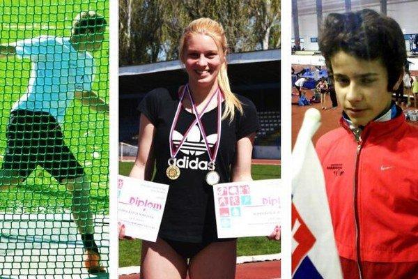 Pavol Ženčár splnil limt na MEJ. Hadasa Kobolková uspela v šprintoch. Karol Dráfi vyhral osemstovku.