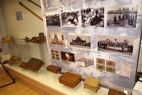 Expozíciu k výročiu 1. svetovej vojny má aj novozámocké múzeum.