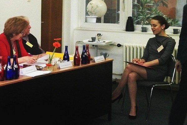 Lucia sa nedávno zúčastnila finále Olympiády ľudských práv.